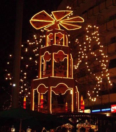 Рождественская пирамида своими руками